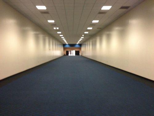 Blue Hallway of Doom