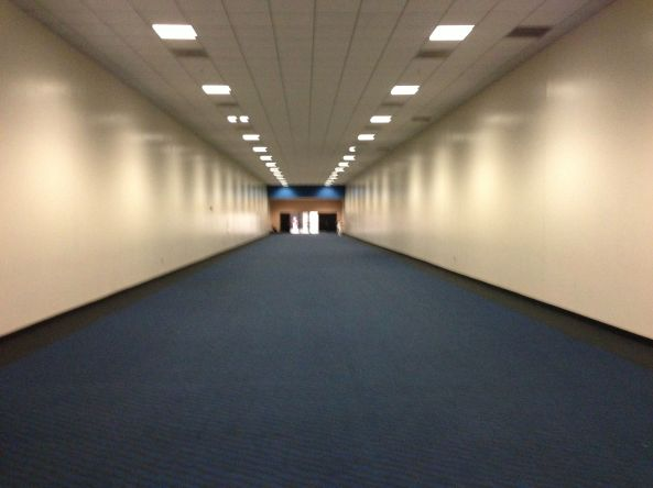 Blue Hallway of Doom