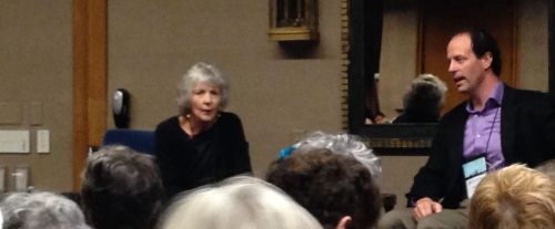 """G Is for Guest"": Sue Grafton interviewed by Toastmaster Brad Parks"