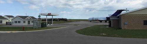 FVTC Public Safety Training Center: Rob&Spill station, Boeing 727, derailed train.