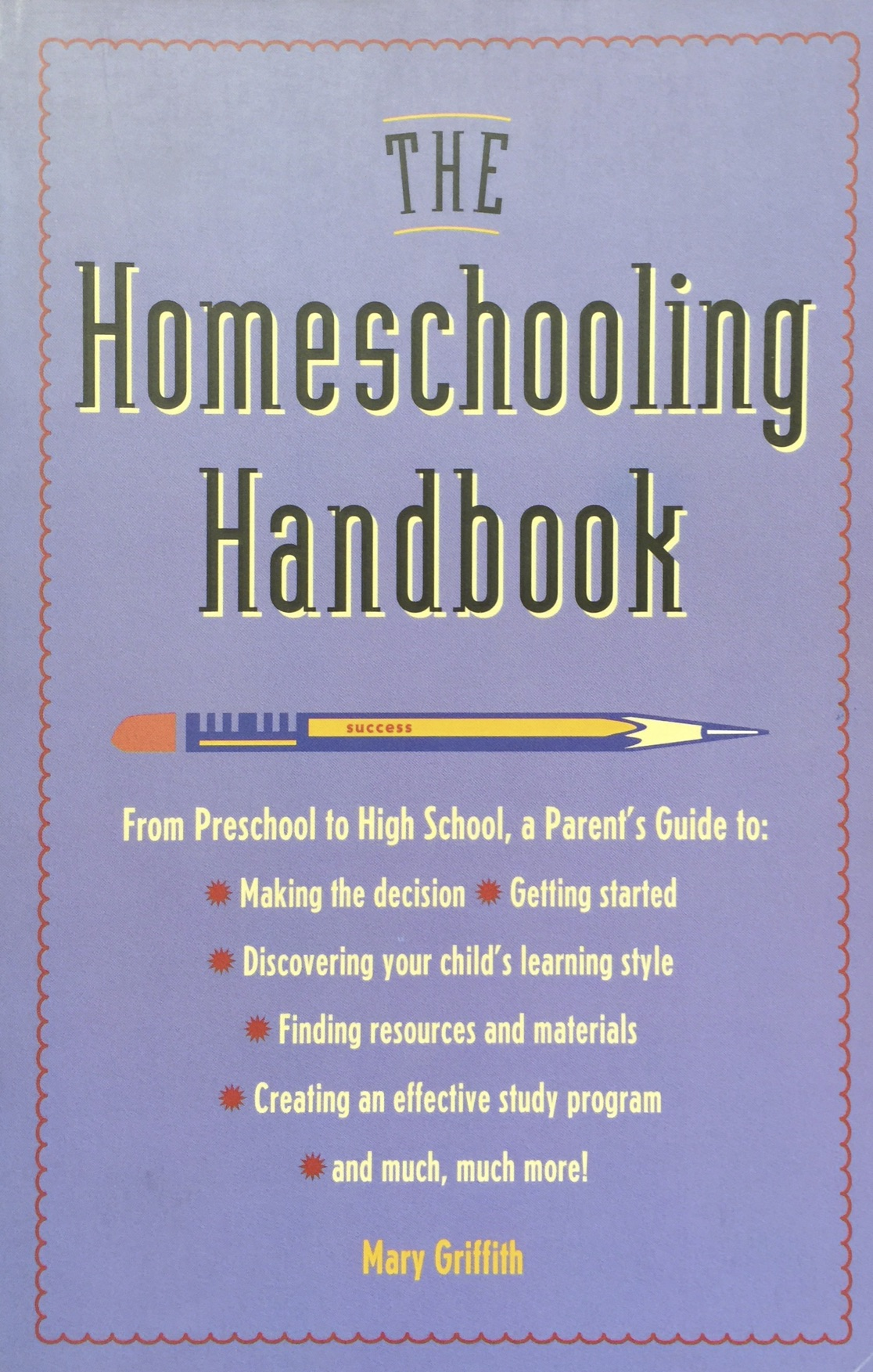 Mary Griffith on unschooling, homeschooling, and lifelong learning